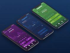 Cryptarch UI Kit / Chart screens