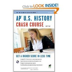 #8: AP U.S. History Crash Course (REA: The Test Prep AP Teachers Recommend)
