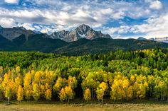 San Juan Mountains in Fall by Nasim Mansurov, via 500px