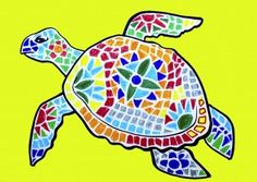 Animals decorated with mosaics inspired by Gaudi Drawing Activities, Art Activities For Kids, Art For Kids, Mosaic Art Projects, Animal Art Projects, Mosaic Drawing, Gaudi Mosaic, Mosaic Animals, Antoni Gaudi