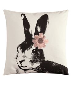 Bunny cushion cover from H