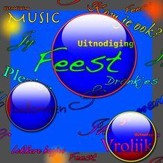 uitnodiging feest fun colors c - Uitnodigingen - Kaartje2go
