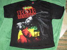 Bob Marley Zion t shirt reggae Large #Zion #GraphicTee