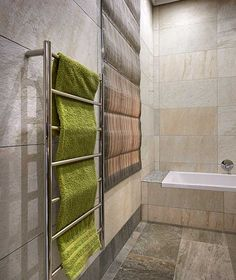 Select from the home range of Jeeves heated towel rails, handcrafted from stainless steel , energy efficient and guaranteed for 25 years. Hydronic Heating, Towel Warmer, Heated Towel Rail, Wow Products, Energy Efficiency, Beautiful Bathrooms, Getting Organized, Bathtub, Towels