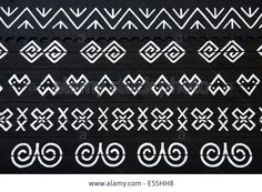 Photo about Painted pattern on side of log house in Cicmany, UNESCO World Heritage Site, Slovakia. Image of elaborate, decoration, architecture - 42727009 Painting Patterns, Craft Patterns, Border Design, Log Homes, Pattern Art, Art Decor, Decoration, Bratislava, Royalty Free Images