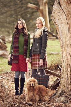Look stylish for AW15 with Laura Ashley (note: cute pooch not included in collection)
