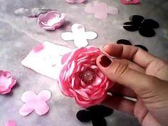 flor repolho em degradê, bem explicada!!! juliana souza!!! - YouTube