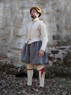 Life of common slovak reenactors: Simple male set 17th Century Clothing, 17th Century Fashion, 16th Century, Baroque Fashion, Ethnic Fashion, European Fashion, Elizabethan Clothing, Medieval Clothing, Renaissance