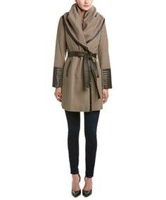Via Spiga Via Spiga Wool-Blend Coat