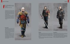 The Witcher 3: Wild Hunt artbook  Chapter IV  The Witchers