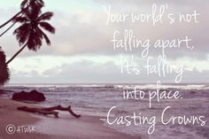 I'm obsessed with this song! #ATWbK #Fiji #CastingCrowns #JustBeHeld