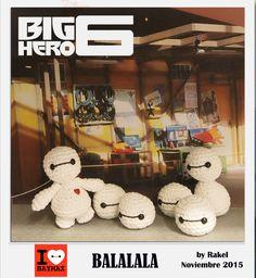 #amigurumi #bighero6 Big Hero 6, Baymax, Your Design, Knit Crochet, Crochet Patterns, Characters, Community, Knitting, Create