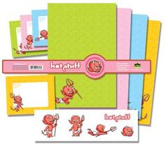 DHorse Deluxe Stationery Set: Hot Stuff