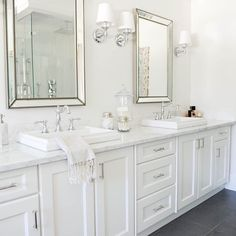 """Bathroom perfection via @monikahibbs ✔ #marble #bathroom #instacurated"""