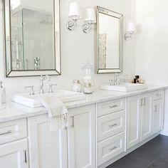 """""""Bathroom perfection via @monikahibbs ✔ #marble #bathroom #instacurated"""""""