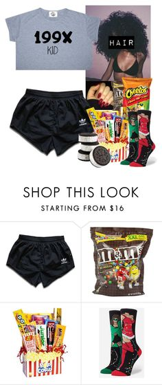 """12/1/15"" by jasmineharper ❤ liked on Polyvore featuring adidas and Stance"