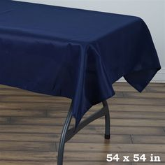 www.tableclothsfactory.com ProductDetails.asp?ProductCode=TAB_SQUR_54_NAVY_POLY