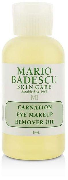 Mario Badescu Carnation Eye Make-Up Remover Oil - For All Skin Types Eye Make-up Remover, Make Up Remover, Best Beauty Tips, Beauty Hacks, Mario, Carnation, Eye Make Up, Makeup Tutorials, Beauty Makeup