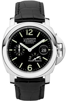 Luminor Power Reserve Automatic Acciaio - 44mm PAM00090 - Collection Luminor - Officine Panerai Watches