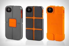 SYSTM has been designed by Incase to provide your smartphone with impact-resistant protection, using Poron XRD foam sculpted into guardrails, reinforced corners and bumpers. Technology Gadgets, Tech Gadgets, Latest Technology, Iphone Cases Bling, Cell Phone Store, Marble Iphone Case, New Phones, Smartphone, Ipad
