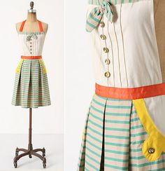 Facade aprons : Practically Martha: Aprons For The Hostess With The Mostess