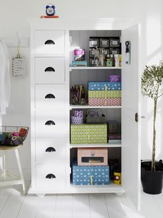 """Gift Wrap Station from """"Getting Organized: Gift Wrap Station"""""""