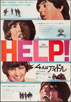 'Help!' Japanese Movie Poster, 1965