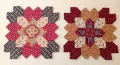 Red Crinoline Quilts: Are you addicted yet??? Lucy Boston block