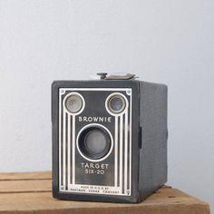 Kodak Brownie Target Six-20, $50, now featured on Fab.