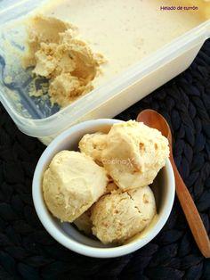 Terminamos la semana con un helado clásico del verano, el helado de turrón. Hace unas semanas, cuando fuimos el grupo pipirrana a Ner...