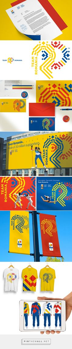 New Logo and Identity for Romanian Olympic and Sports Committee and Team Romania by Brandient