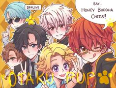 Mystic Messenger by OtakPup