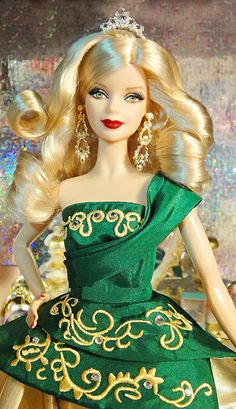 Holiday Barbie 2011 by Robert Best by possiblezen, via Flickr