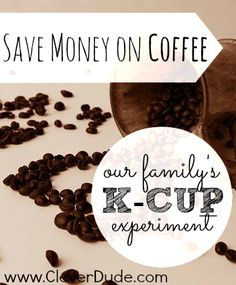 Are you a coffee lover too?Here's an experiment we tried to save money on coffee!Would you try this out as well?