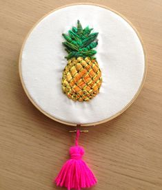 I made this! Pineapple embroidery now available in my online store. Copyright © 2013 jodie nicholson