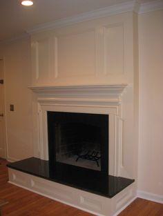 custom fireplace surround - traditional - family room - dc metro - FA Design Build