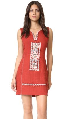 plenty by TRACY REESE Embroidered Shift Dress