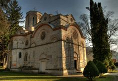 Србија | Serbia - Romanesque church of the Monastery Ljubostinja construction 1388-89