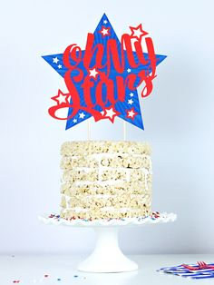 """Oh my stars, indeed! This glorious Americana cake-topper is a sight to behold. """"Meet the Maker"""": Celebration Shoppe – 4th of July 