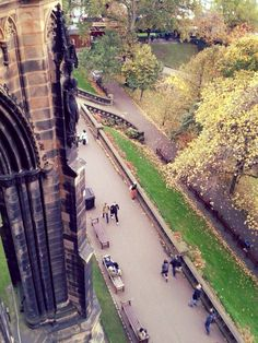 View from the Scott Monument in Edinburgh City. Built in memorial for Sir Walter Scott. Magnificent piece of Gothic Architecture. Scott Monument, Pale Blue Dot, Edinburgh City, Lets Do It, Gothic Architecture, Highlands, Over The Years, Scotland, British