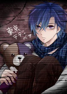 KAITO com uma pegada Tokyo Teddy Bear + Diabolik Lovers = essa Foto!