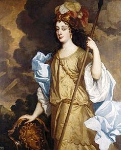 1665 Windsor Beauty Barbara Palmer, Duchess of Cleveland as Minerva, the Roman goddess of war and wisdom by Sir Peter Lely (Royal Collection, Hampton Court Palace) British History, Art History, Ancient History, Charles Ii Of England, The Queen's Gallery, House Of Stuart, Sir Anthony, The Royal Collection, Exhibition