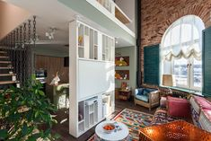 Эклектичная двухуровневая квартира длядизайнера — The Village