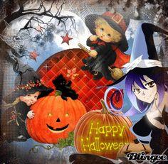 Happy Halloween Halloween Deco Mesh, Fete Halloween, Scary Halloween, Halloween Decorations, Happy Halloween Pictures, Halloween Images, Halloween Ideas, Teddy Bear Design, Animation