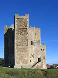 English Castles - Orford Castle