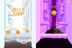 Jelly Jump App by Ketchapp. Puzzle Apps.