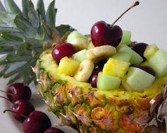 Cherry & Pineapple Fruit Salad