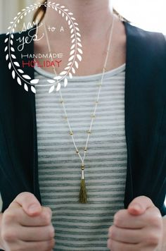 DIY Tassel Necklace