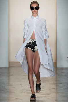 Shirt Dress Peter Som Spring 2015 RTW – Runway – Vogue