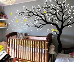 Nursery room tree wall decal Baby nursery tree by DecalsArtShop, $75.99